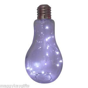 Grande-Bombilla-LED-Lampara-Mesa-Novedad-Bateria-Cristal-Boton-Pulsador-Funky