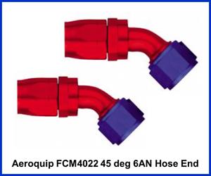 Aeroquip FCM4024 Aluminum 10AN 45-Degree Elbow Fitting