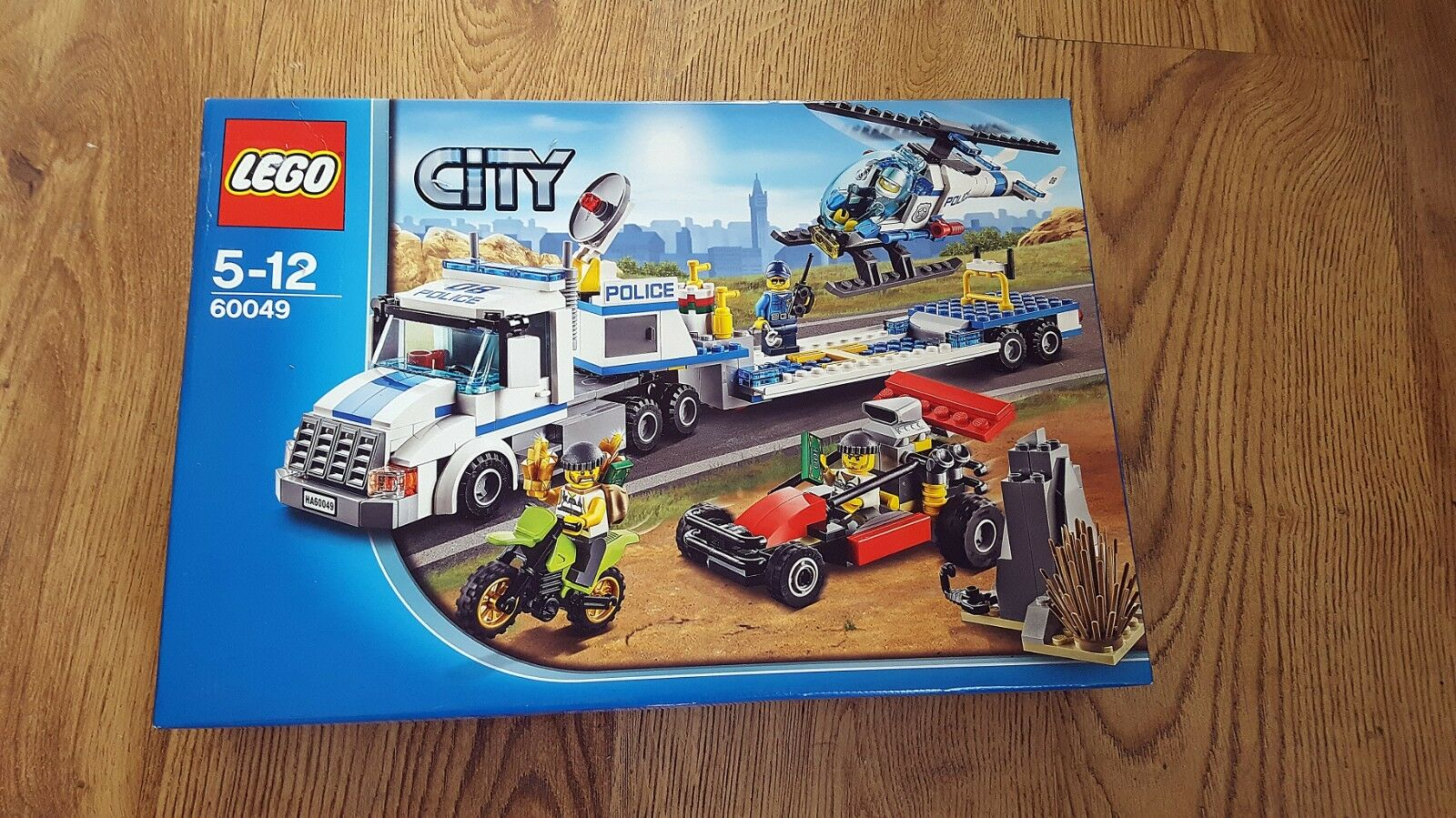 LEGO City 60049 Helicopter Transporter (2014) | New, Unopened & Great Condition