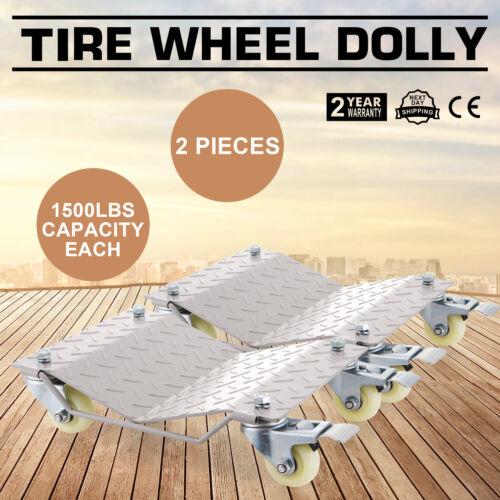 """Rueda plataformas rodantes Dolly vehículo Heavy Duty 12/""""X16/"""" deslice Actualizado De Gran Estilo"""