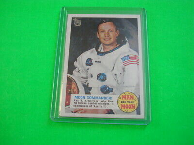 Topps 75th Anniversary Base Card 53 Man on the Moon