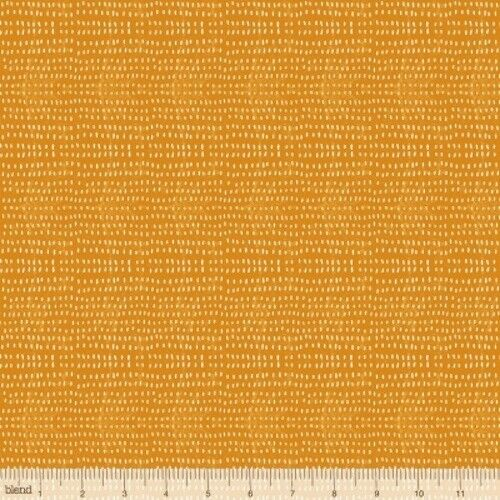 Blend Fall Goodness by Cori Dantini 112 114 06 Tangerine Seeds BTY COTTON