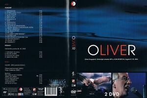 Details about OLIVER DRAGOJEVIC (2004) LIVE MUSIC CONCERT - 4 CROATIAN DISC  (2 DVD + 2 CD)