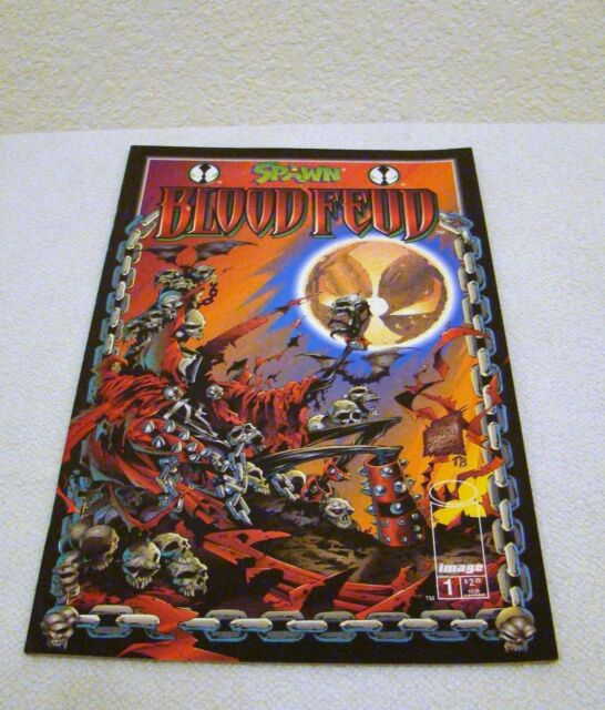 Image Comics Spawn Blood Feud #1 June 1995, Collectible Comic Book
