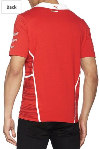 Herren 10 Camiseta £ Puma Corsa Rosso Medio Equipo 99 49 Rrp Sf OpqSwp