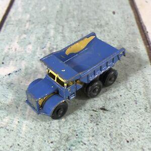 Matchbox Lesney 6-wheeler Euclid dump truck 1964 - For restoration