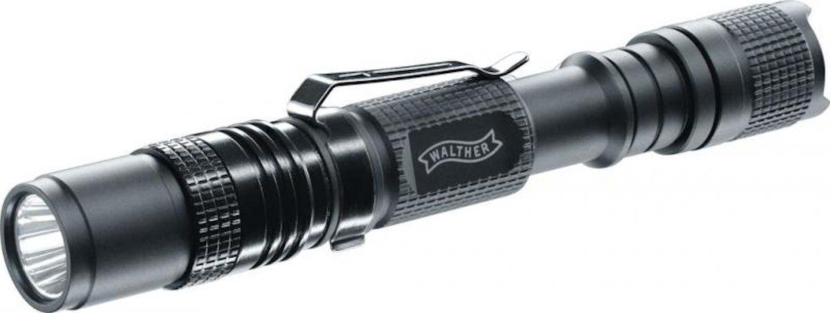Walther Umarex LED Lampe Taschenlampe RLS250 mit 230 50 und 10 Lumen 37058  | Neueste Technologie