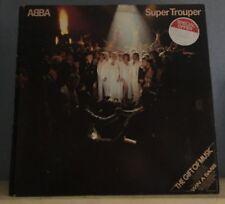 ABBA Super Trouper 1980 UK  vinyl LP + INNER EXCELLENT CONDITION  D