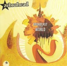 FREE US SHIP. on ANY 2 CDs! ~Used,VeryGood CD Zebrahead: Broadcast to the World