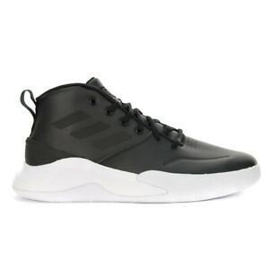 Adidas Men's Own The Game Core Black/Black/Metallic Basketball Shoes EE9638 NEW