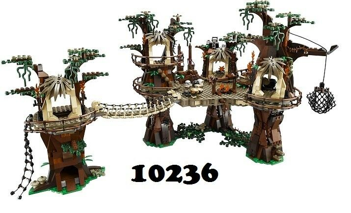 NEW Lego Star Wars 10236 Ewok Village Village Village UCS NO MINIFIGURES de97fd