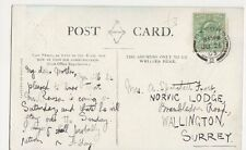 Mrs A. Spatchett Frost, Norvic Lodge, Brambledown Rd Wallington Postcard #2 B332
