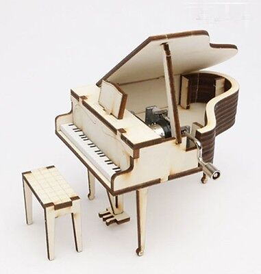 Orgel Grand Piano Music Box / WOODEN MODEL KIT