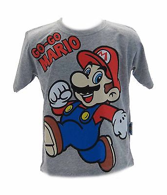 T-shirt Super Mario Bros Grigia Big Clearance Sale Other