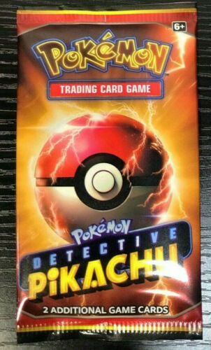 Sealed Rare Detective Pikachu Movie Film Exclusive Cinema Promo Booster Packs s