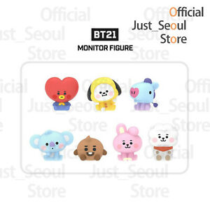 Official-BTS-BT21-Baby-Monitor-Toy-Figure-Full-Set-Freebies-Free-Tracking-Kpop