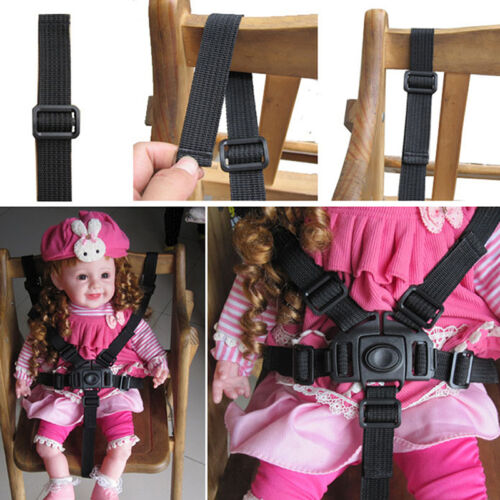 Baby-Kind-5-Punkt-Gurt Kinderwagen Hochstuhl Pram Buggy Auto sicher Gurt B K6O5