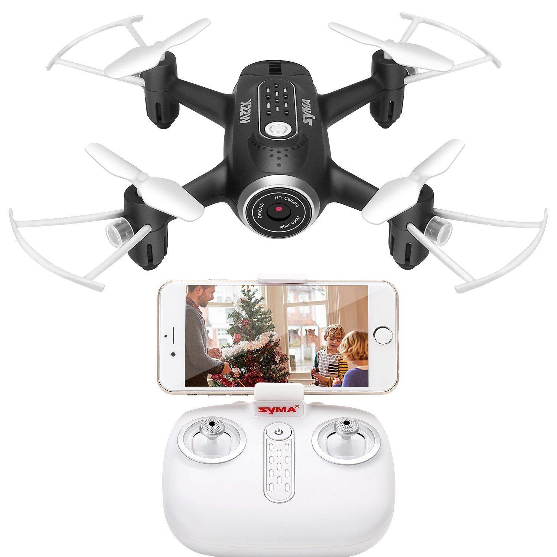 FPV Mini Poche RC Drone avec avec avec Caméra Syma X22W Quadricopter RTF Hélicoptère Gravity 0c6e24