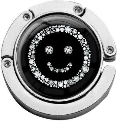 """Delizioso Metalum Tasche Laccio In Forma Circolare """"smiley In Argento""""-er In Runder Form """"smiley In Silber"""" It-it Mostra Il Titolo Originale"""