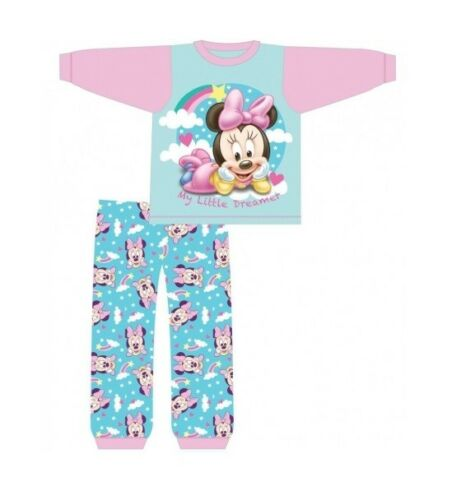 Minnie Baby Girls Mouse Pyjamas Set Age 6-24 Months Pink