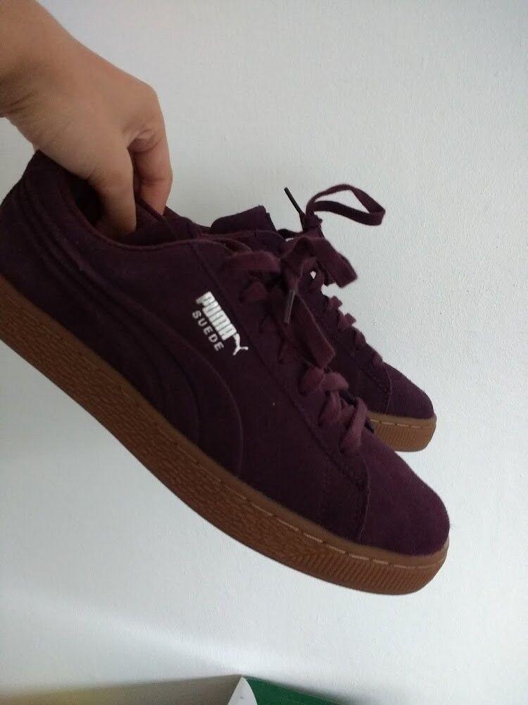 Puma Classic Suede - UK7 - Wine - Never Worn Cheap women's shoes women's shoes