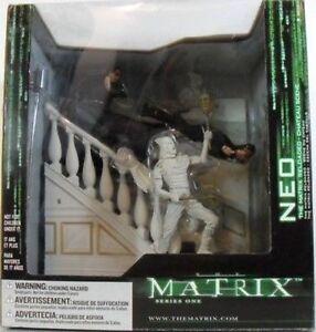 The Matrix Reloaded - Neo contre Enemy Set Scène Castle Mcfarlane
