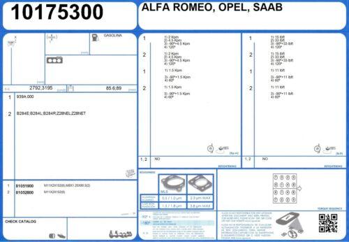 Genuine Ajusa OEM Remplacement Cylindre Joint De Culasse Joint côté droit 10175300