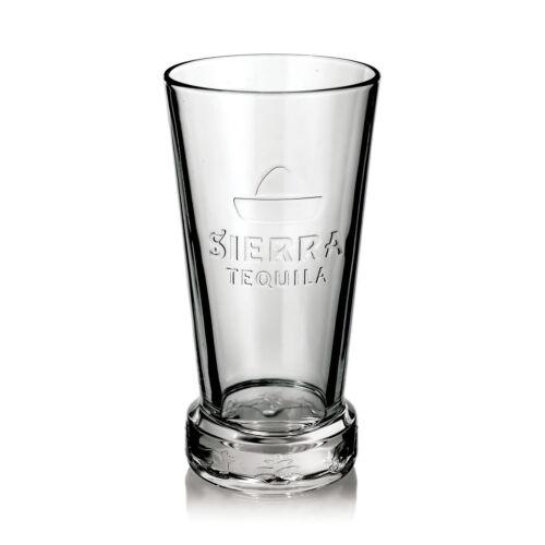 Sierra Tequila Glas Gläser Longdrink Relief Design Gastro Bar Deko NEU