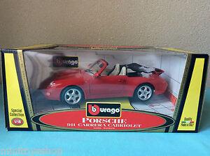 Bburago-Porsche-911-Carrera-Cabriolet-Special-Collection-1-18-ovp