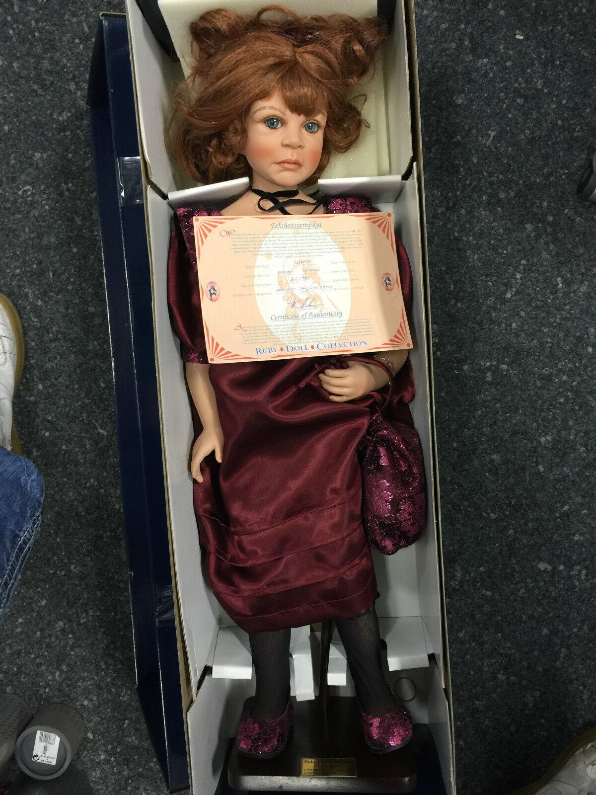 MONIKA LEVENIG bambola di porcellana 73 cm n. 2    EDIZIONE LIMITATA
