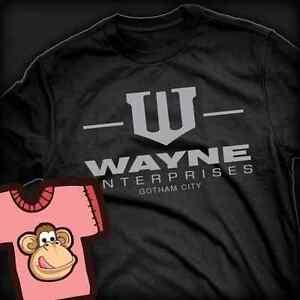 Batman-Wayne-Enterprises-inspired-T-shirt-Childrens-kids-All-Colours