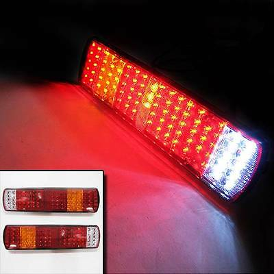 2x Rear Tail Lights Lamp Truck fit IVECO SCANIA MAN VOLVO MERCEDES DAF 12//24V
