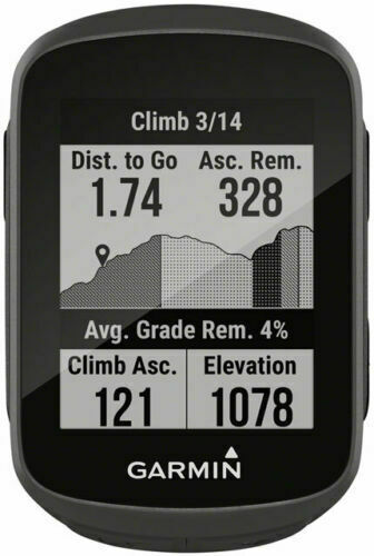 GPS Garmin Edge 130 Plus Bike Computer Black NEW! Wireless