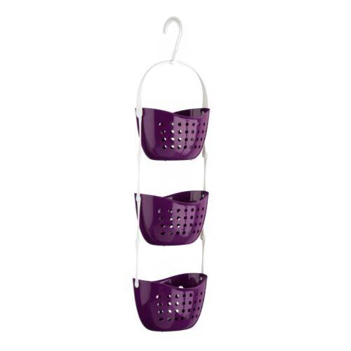 17 x 83 x 23 cm 3 animal Purple PP Premier Housewares Shower Caddy