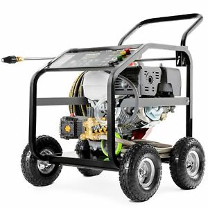 Hidrolimpiadora motor gasolina 20cv 331BAR 4800PSI alta presion -Greencut