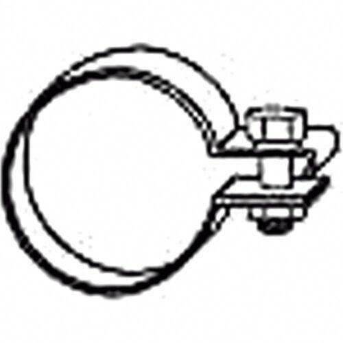 HJS Schalldämpfer Schelle 63.5mm