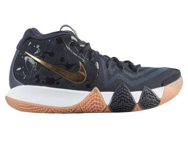 the latest 8cd9d 9008c Nike Kyrie 4 Mens Pitch Blue 943806-403 Dark Blue Basketball Shoes Size 12