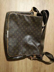 negozio online a4ccf fd6b8 Dettagli su Louis Vuitton a Tracolla Donna uomo Borsa cartella vintage