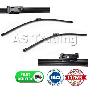 DIRECT-FIT-FRONT-AERO-WIPER-BLADES-PAIR-28-034-16-034-FOR-SEAT-ALHAMBRA-2010-ON
