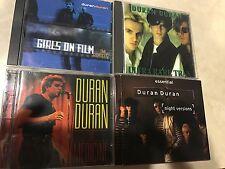 DURAN DURAN Huge Rare HTF Vintage Import CD Vinyl Shirt Record Lot NR FS
