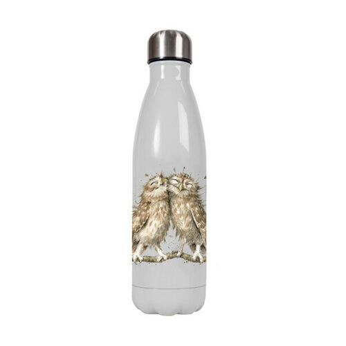 Wrendale Owl Water Drink Bottle Hot or Cold Drinks