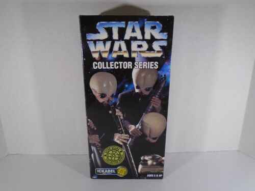 "1997 KENNER STAR WARS CANTINA BAND 12"" ICKABEL FIGURE LOOK"