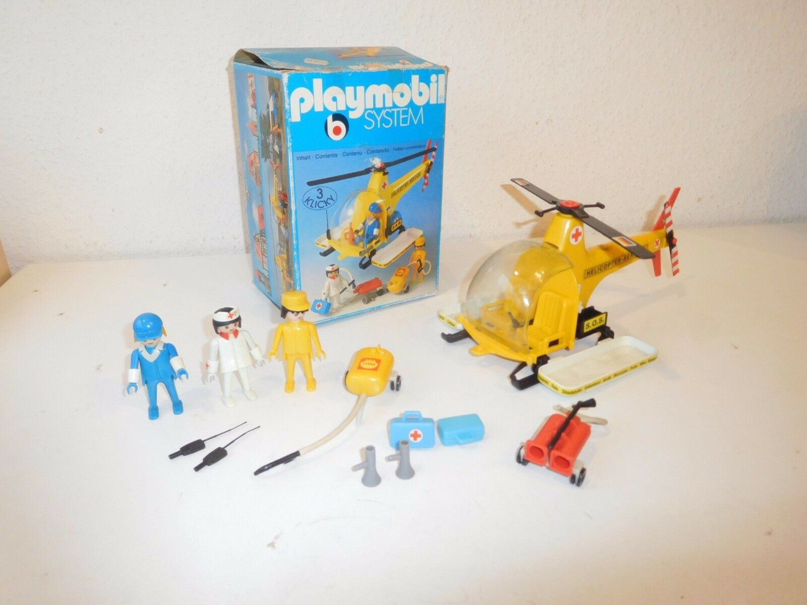 Playmobil set 3247 adac helicopter ovp (3)  | Good Design