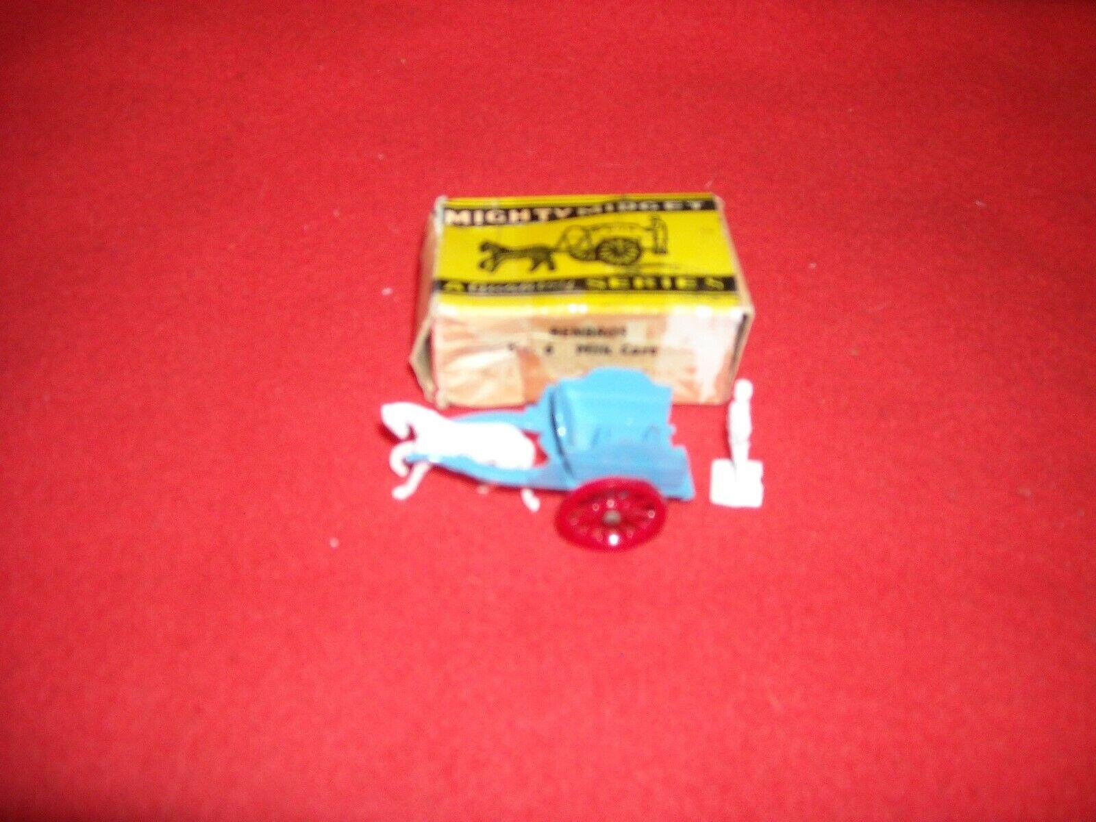 RARE MIGHTY MIDGET MILK CART NO.6 by BENBROS IN ORIGINAL BOX IN SUPERB CONDITION