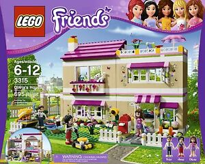 LEGO FRIENDS 3315 LA VILLA DOLIVIA - OLIVIAS HOUSE - NEUF - NEW