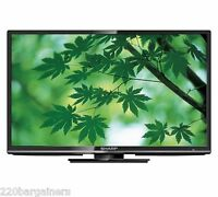 Sharp 24 Multi System Hd Led Tv Pal Ntsc 110 220 Volt Worldwide Use Lc-24le440m