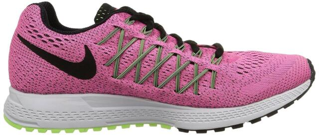 601ac9a13ee20 WMNS Nike Air Zoom Pegasus 32 Pink Black Womens Running Shoes 749344 ...