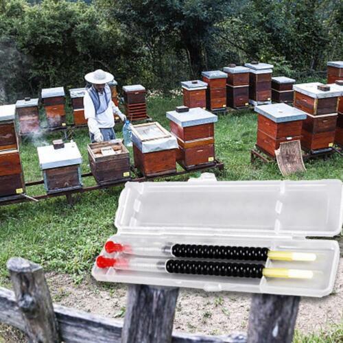 2pcs Queen Bee Larvae Retractable Grafting Tool Beekeeping Rearing Supplies