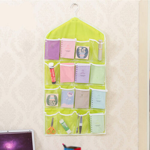 Closet Shoes Rack Hanging Organizer Storage Holder Pocket Over Door Convenient