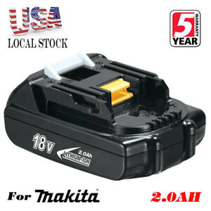 18V-2-0Ah-Lithium-Battery-18-Volt-For-Makita-LXT-BL1830-BL1815-BL1820-Drill-TOOL